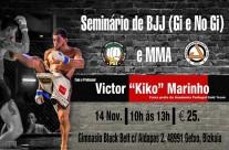 Seminario & una Semana Completa  de Entrenamiento con Kiko Victor Black Belt PGT Portugal Team Jucao Spain