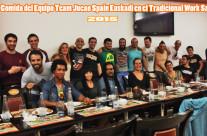 Examen y Comida del Equipo Team Jucao Work Samames Tradicional 2015