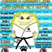 Euskadi´s Summer Open dia 16-Julio-2016 en mungia Abierta las inscripciones.