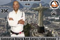 Proximamente dia 28 de Enero Seminario Con el Maestro Ailson Brites «JUCAO» en gimnasio Black Belt Getxo. abierto a todos los equipos.