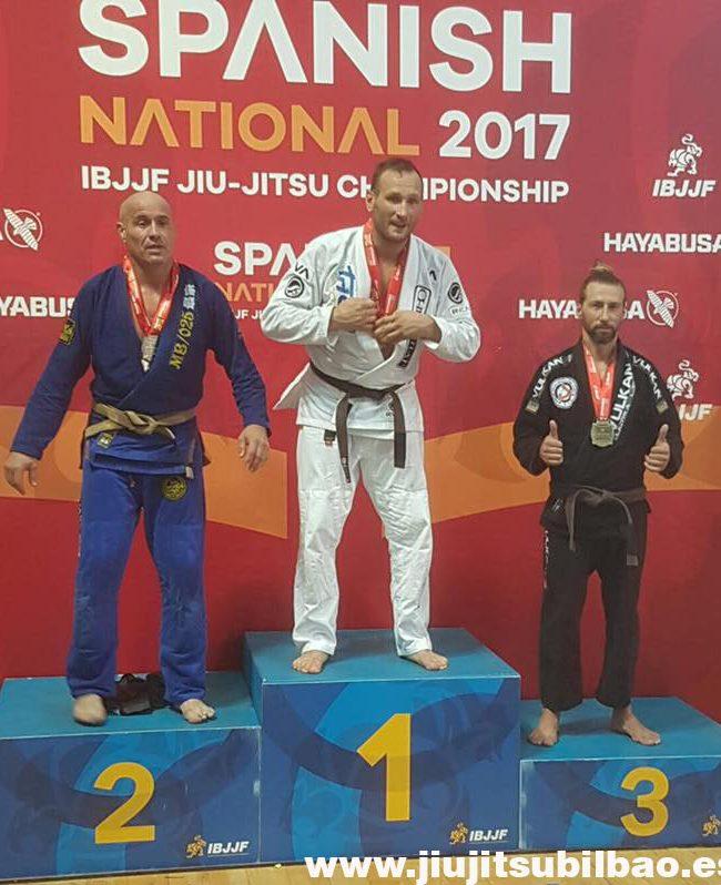 Hector Rodriguez Campeón Categoría Máster 2 Open Class Marrón Spanish National-Guadalajara 17-Junio 2017