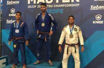 Lukasmar Bandeira Equipo Team Jucao Spain 3º en el 1º Europeo Master en Barcelona 06-mayo-2017
