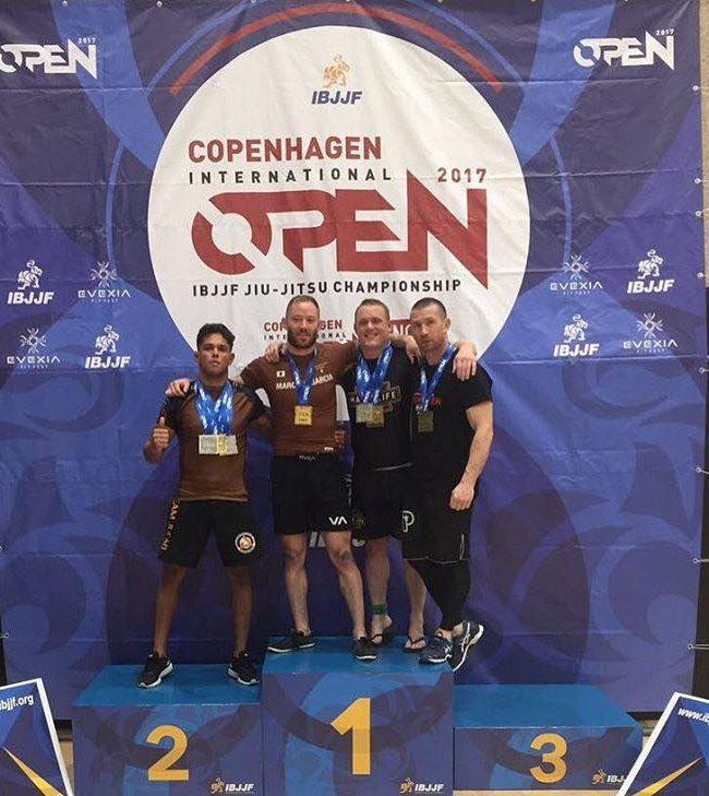 Lukasmar Atleta Team Jucao 2º Puesto NO-GI OPEN CLAS Open Copenhagen 2017