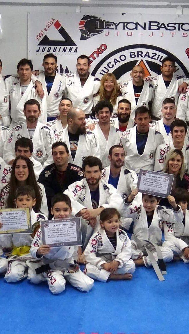 Team Jucao Spain Familia.