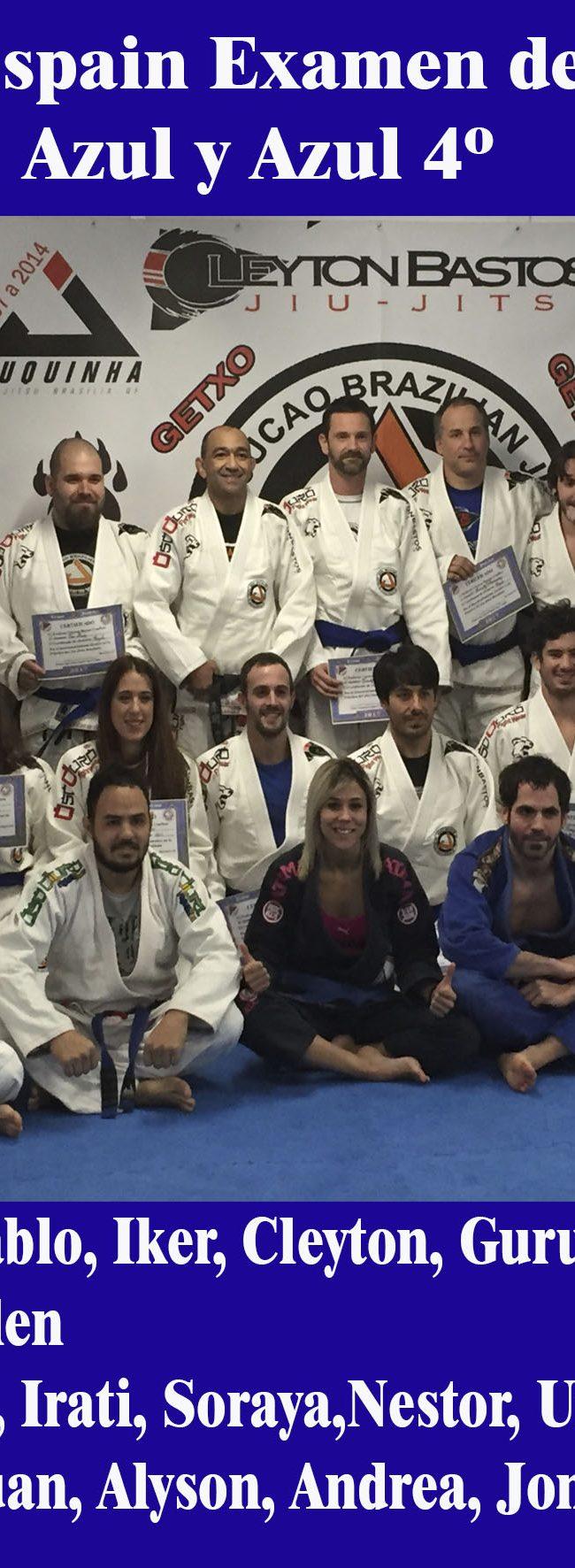 Examen De Grado 2-12-2017 Team Jucao Spain, Cinturones Azules y Azules 4º