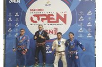 Lukasmar Team Jucao Spain 3º Puesto en el open Madrid IBJJF 19-11-2017